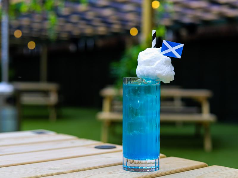 Yes sir, I can Bogie! Euros inspired Scottish cocktail kicks off summer at Fore Play Crazy Golf