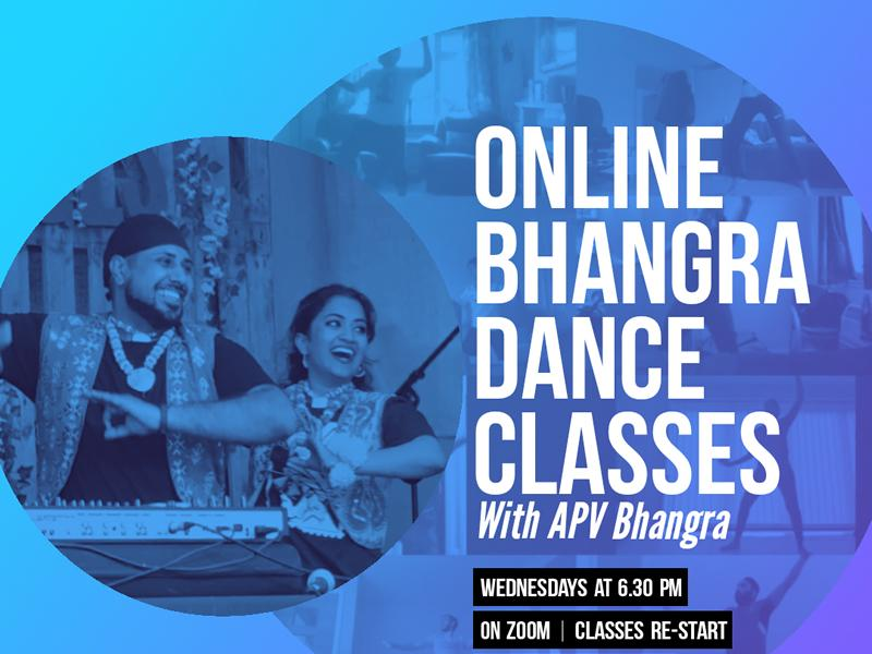 Free Online Bhangra Dance Classes with APV Bhangra