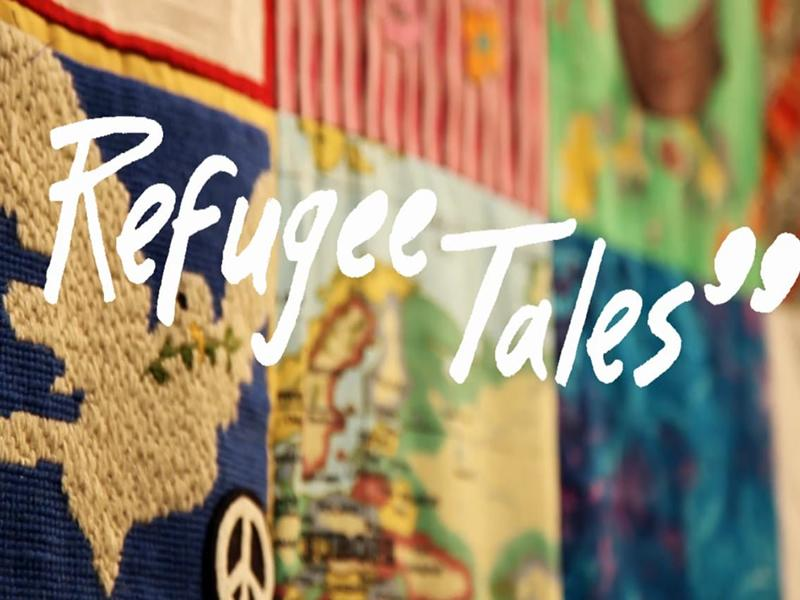 Refugee Tales: Readings with Jackie Kay and Sameena Zehra at Glasgow Women's Library