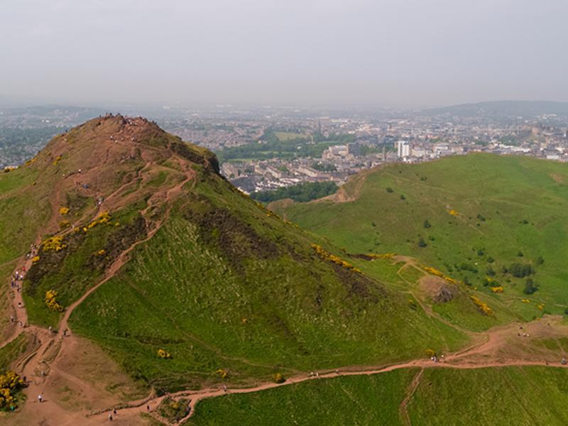 Journey Inside Edinburgh's Volcano