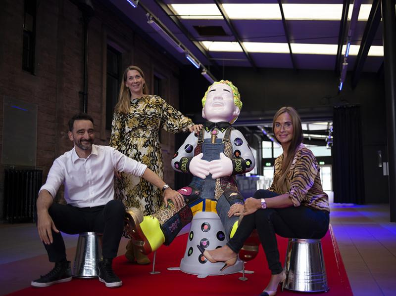 Oor Wullie gets the rock star treatment as he comes home to Edinburgh Corn Exchange
