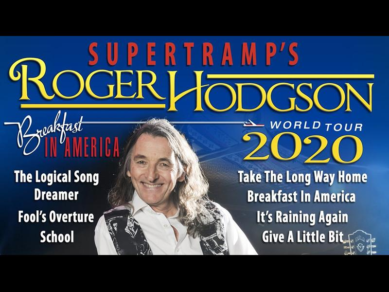 Roger Hodgson - CANCELLED