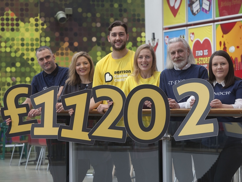 St. Enoch Centre supports Beatson Cancer Charity