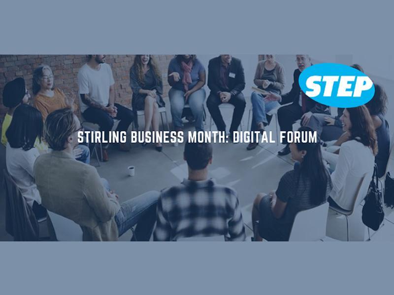 Stirling Business Month: Digital Forum