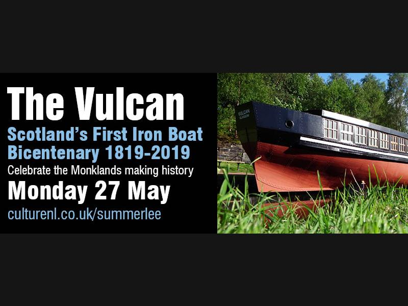 The Vulcan: Scotland's First Iron Boat Bicentenary 1819-2019