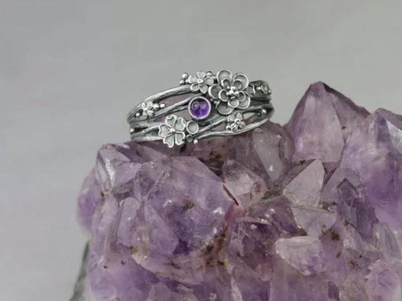 Anna Mazon Silver Twig Ring Masterclass