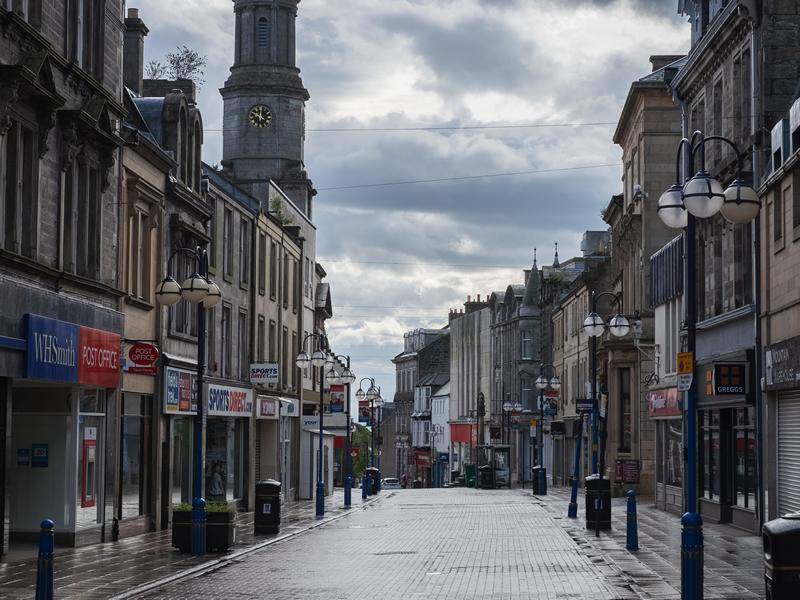 Fife welcomes people back to town centres
