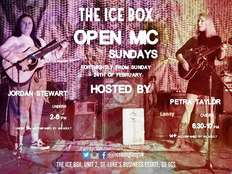 The Ice Box Unders And Overs Open Mic Sundays