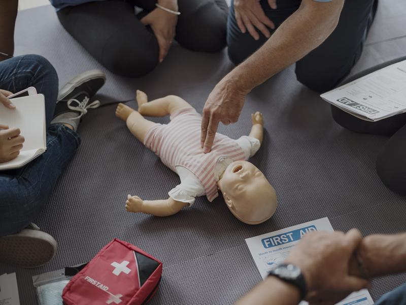 Accredited Paediatric First Aid Course