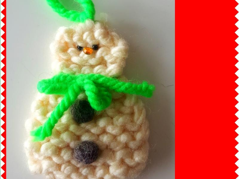 Kids Knit a Snowman - for Beginners - CANCELLED