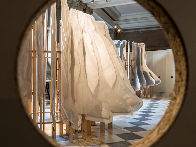 Provocative new WWI centenary artwork by Christine Borland unveiled at Kelvingrove