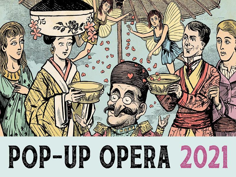 Scottish Opera Pop-up Opera Tour - A Little Bit of Iolanthe, The Mikado and The Gondoliers