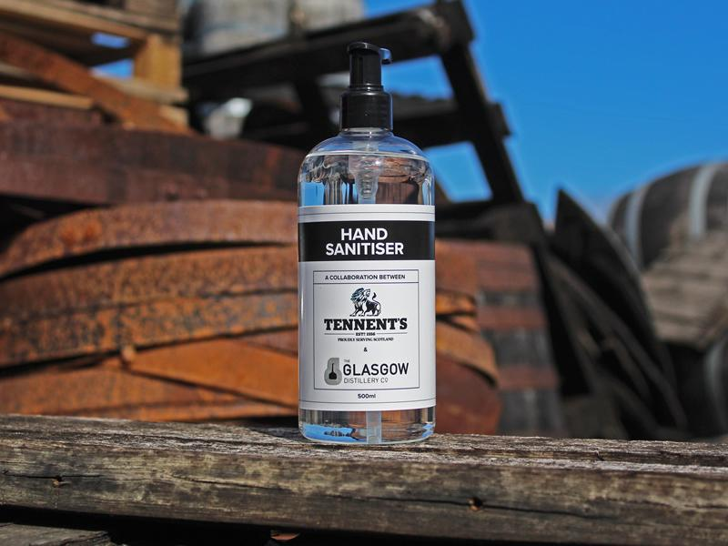 Thousands of pounds worth of free hand sanitiser made available for hospitality reopening