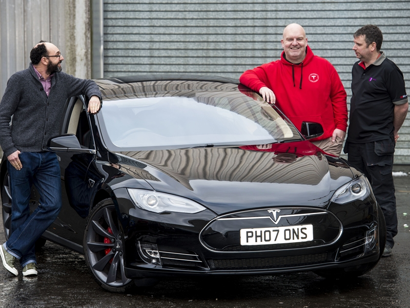 Glasgow Museums is gifted a Tesla Model S