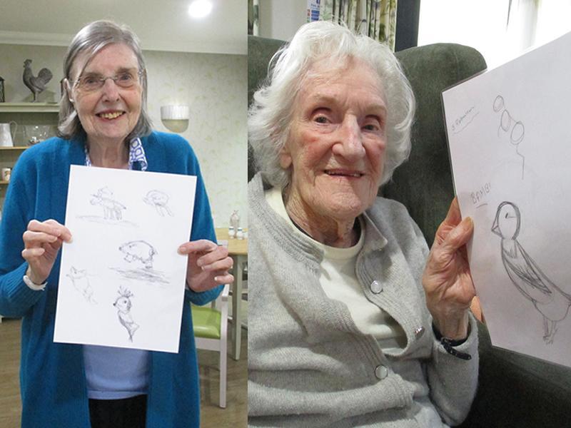 Edinburgh care home residents take part in worldwide art festival