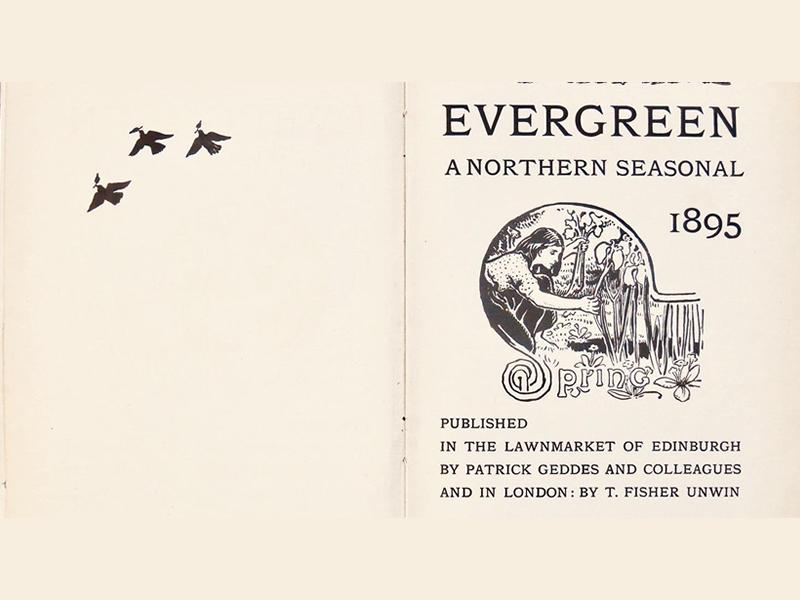 Lecture: Patrick Geddes' Evergreen and Charles Mackie