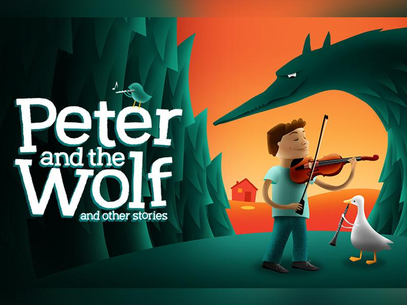 Children's Classic Concerts: Peter and the Wolf and other stories