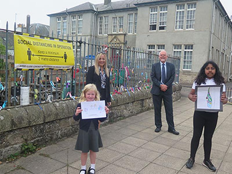 Pupils resilience artwork on display across the county