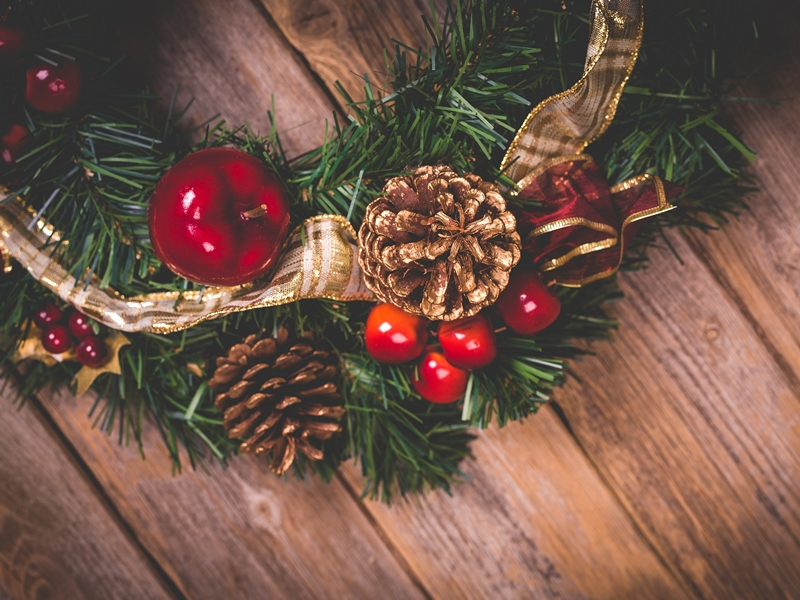 Festive Wreath Making - FULLY BOOKED