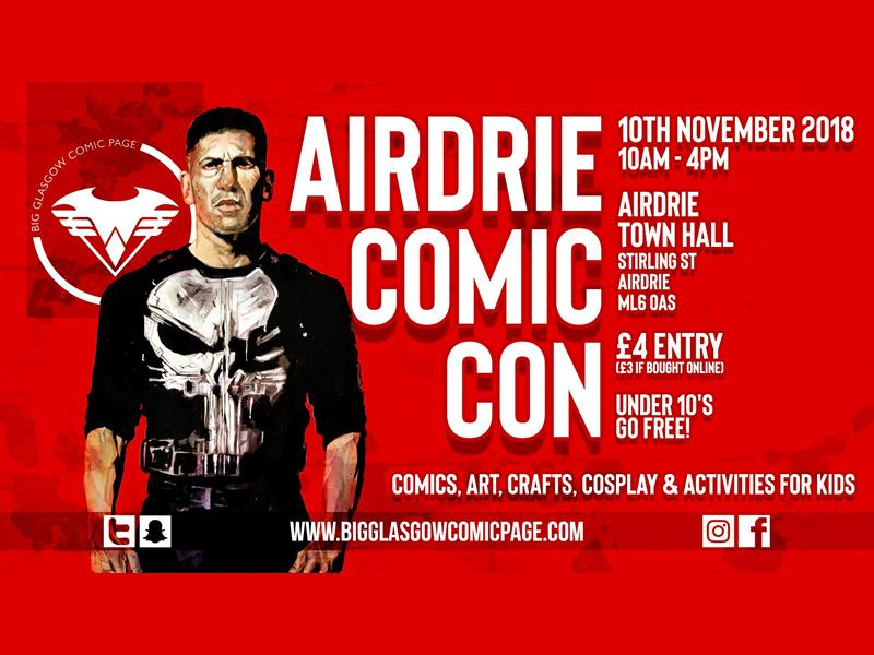 Airdrie Comic Con - CANCELLED