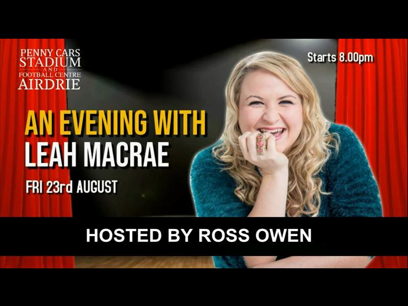 An Evening With Leah Macrae