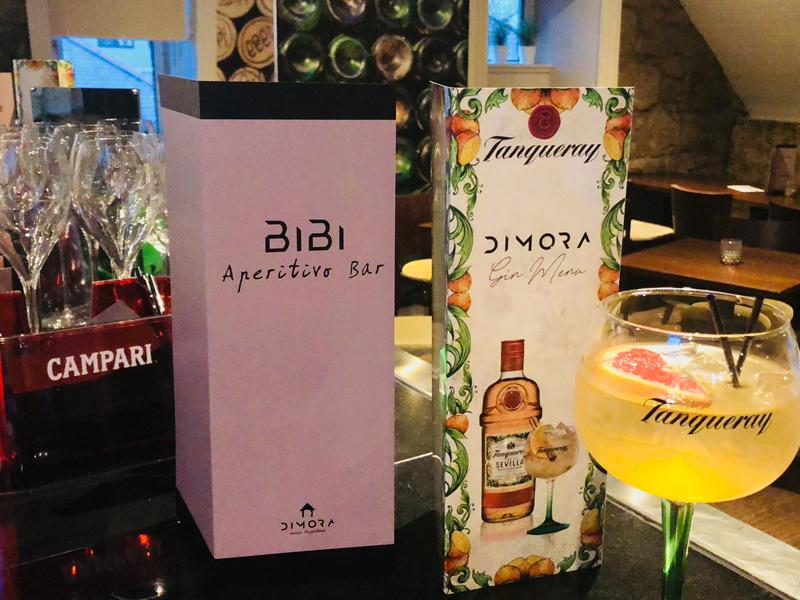 Bibi Aperitivo Bar At Dimora Restaurant