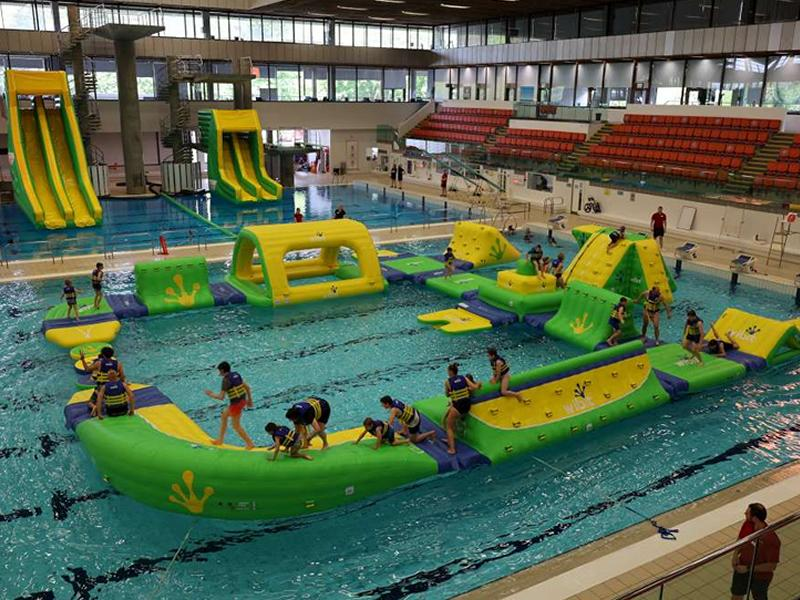 Thrill seekers slide this way as Edinburgh Leisure launch AquaDash Extreme