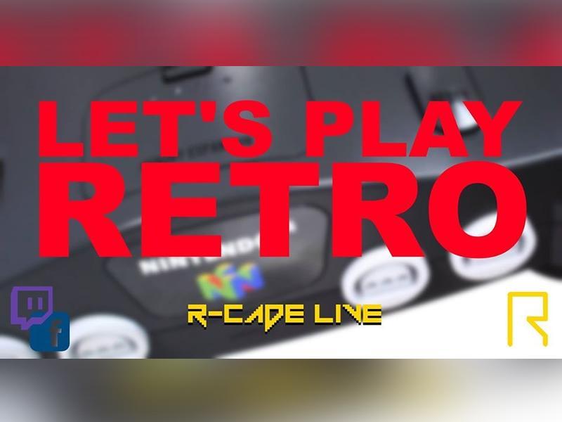 R-CADE Live: Let's Play Retro