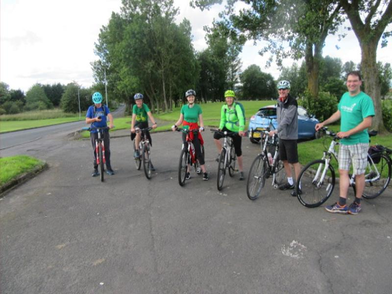 Guided Cycle Ride from Coatbridge to Hillend Loch and Back