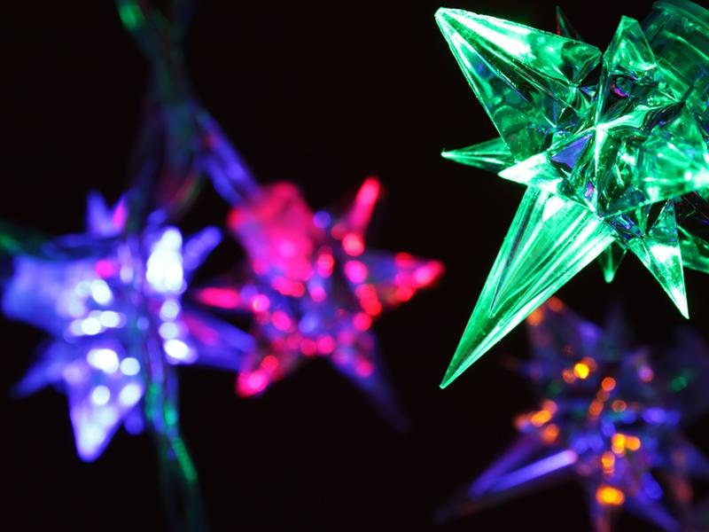 Eaglesham Christmas Tree Light Switch On