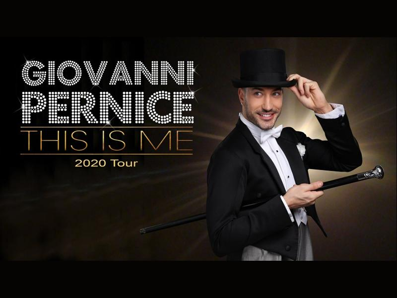 Giovanni Pernice: This Is Me - CANCELLED