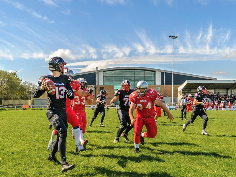 American Football: East Kilbride Pirates vs Glasgow Tigers