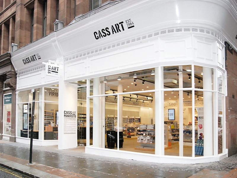 Cass Art Glasgow