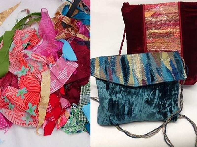Rags to Bags - Creative Textile Upcycling