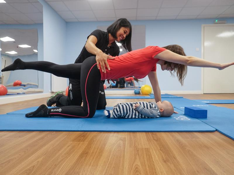 Physio Effect Crybaby Pilates Classes