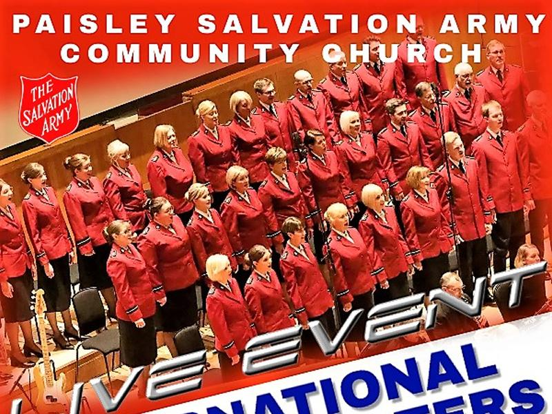 International Staff Songsters of The Salvation Army