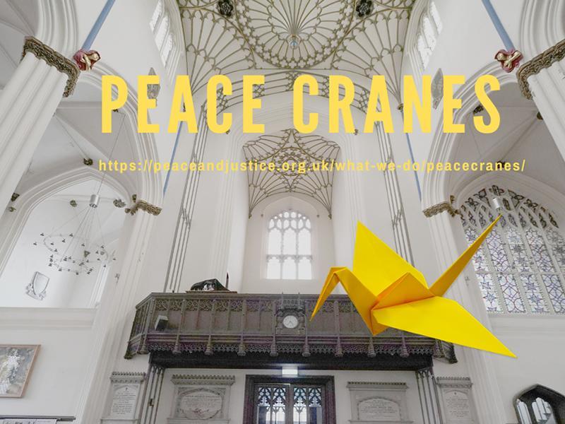 Peace Cranes: An Exhibition