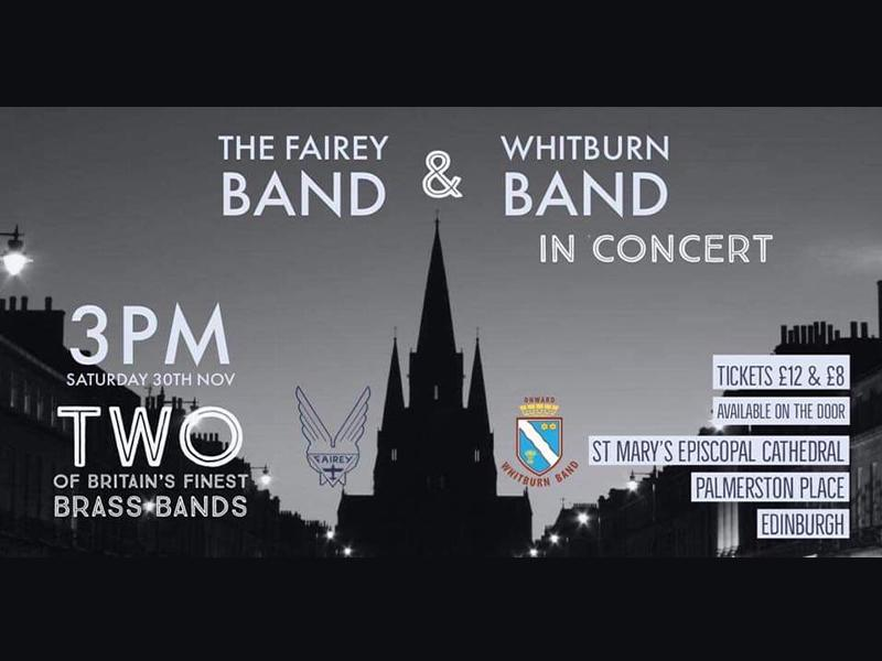Whitburn Band and Fairey Band in Concert