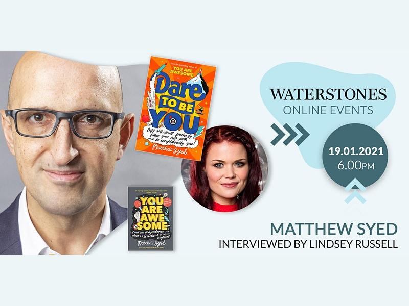 Dare To Be You: A Family Event With Matthew Syed & Lindsey Russell