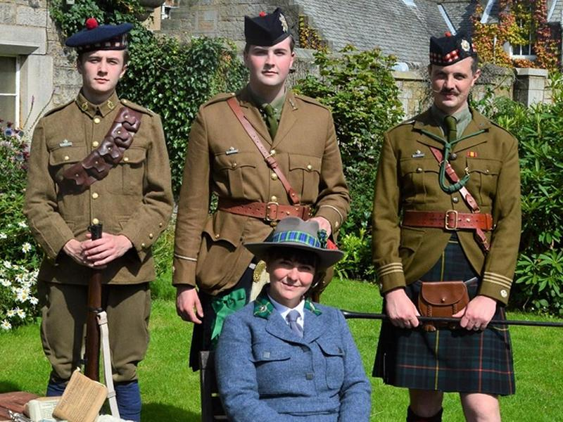 Scots at War at the Castle