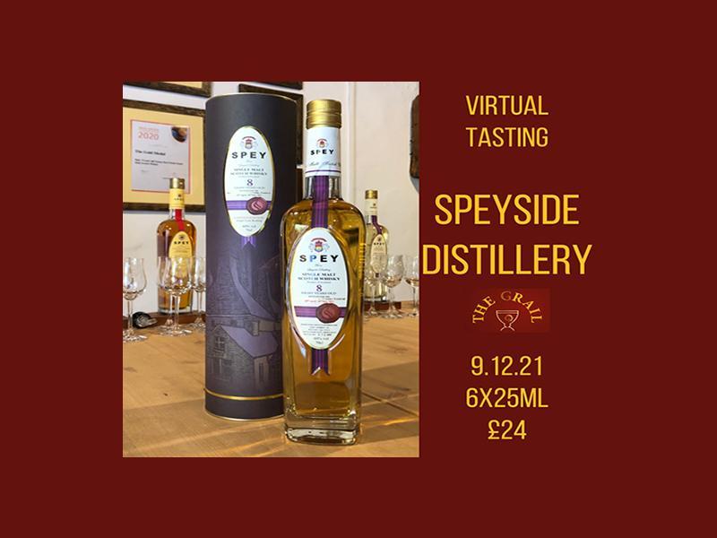 Virtual Tasting: Spey Whisky