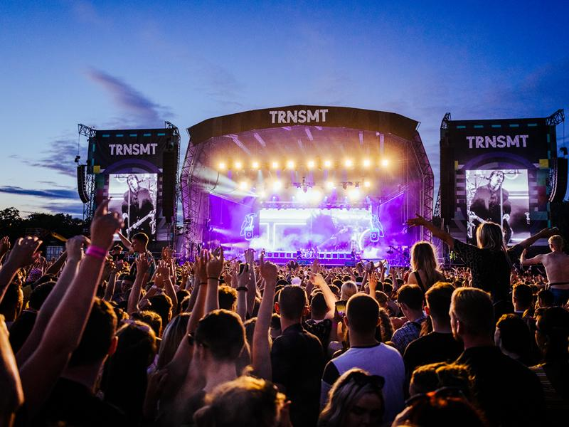 Fans to relive festival highlights with a special TRNSMT takeover on BBC Scotland