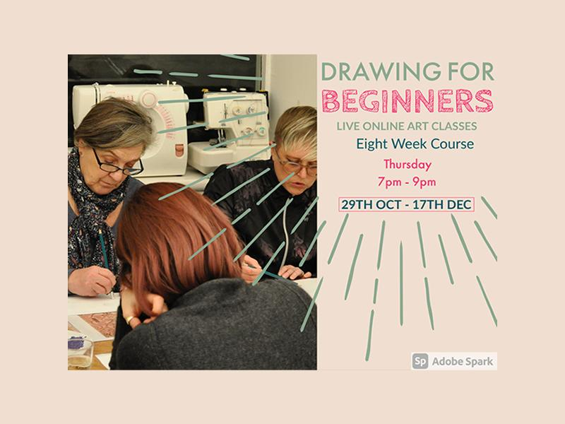 Drawing for Beginners - 8 week online course