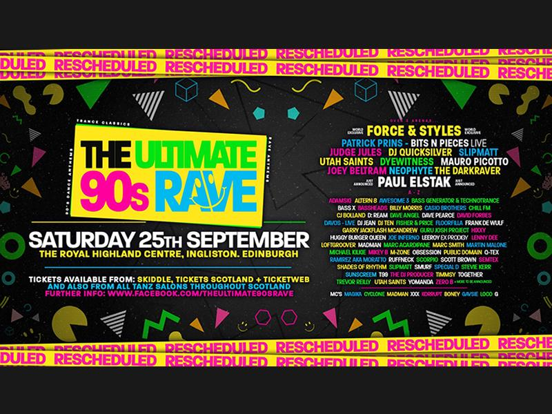 The Ultimate 90's Rave