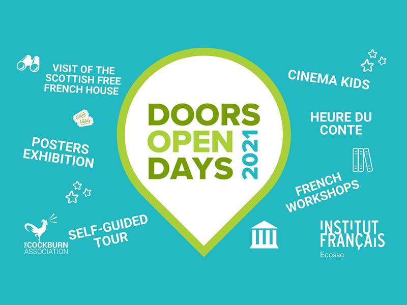 Doors Open Days 2021 Institut Français d'Écosse
