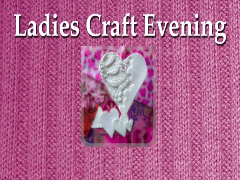 Ladies Craft Evening