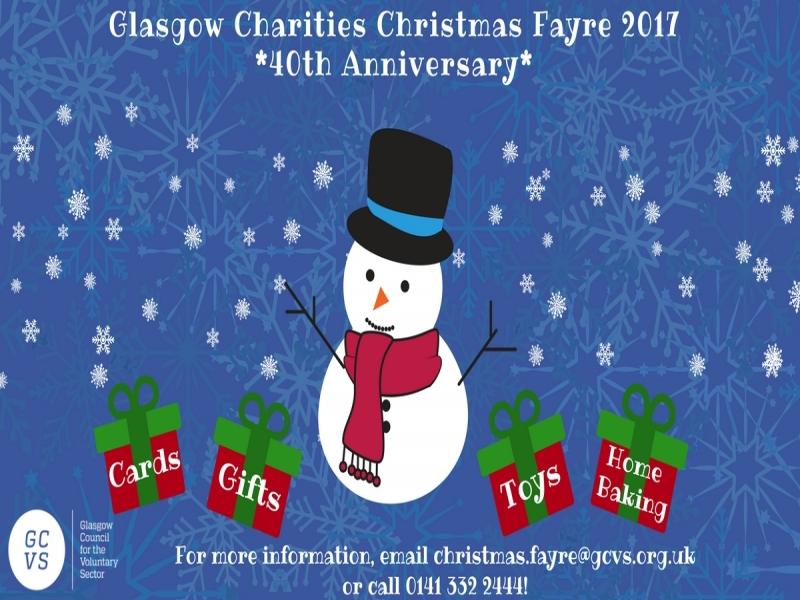 Glasgow Charities Christmas Fayre 2017