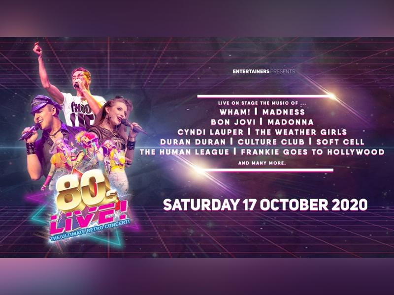 80's Live - CANCELLED
