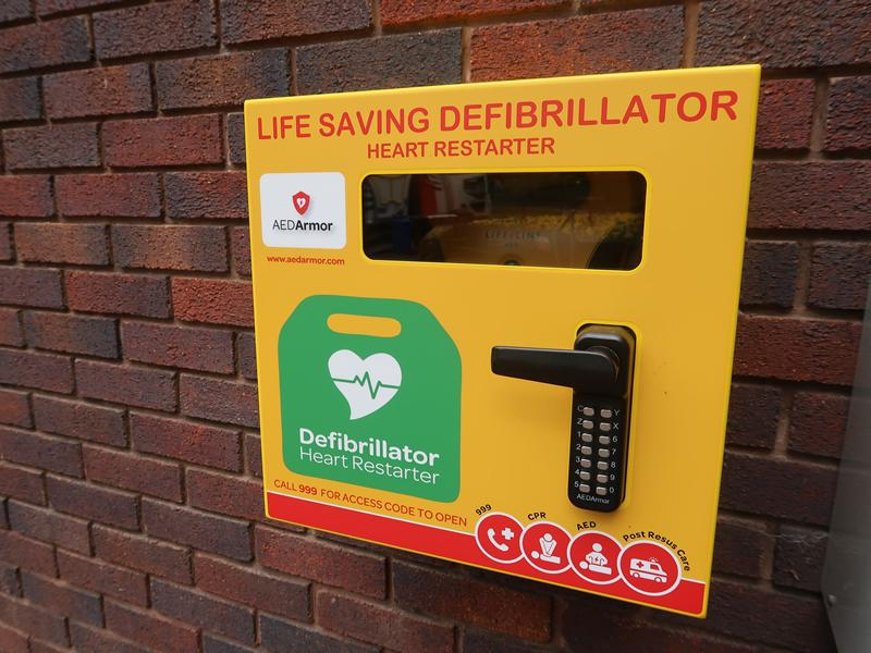 Residents to benefit from life saving defibrillators