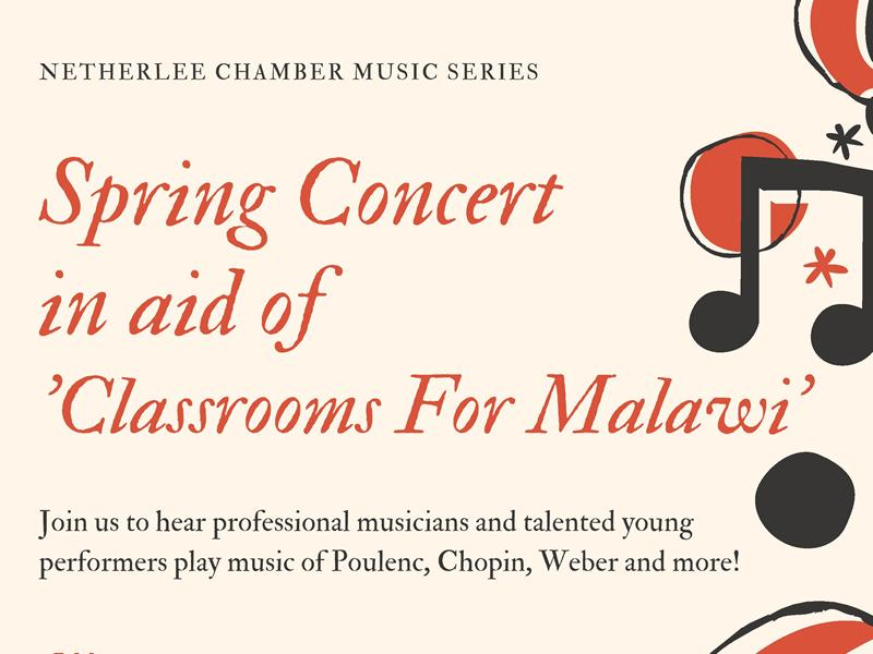 Netherlee Chamber Music Series Spring Concert